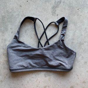 Lululemon sports bra with double straps size 4